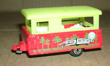 1/64 Scale Pop Up Camper Trailer Diecast Model - GLOW IN THE DARK Matchbox Toy