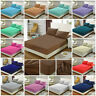 Fitted Sheet Bed Sheets Poly Cotton Pillows Single,Double,King Size,Super King