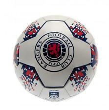 Rangers Fc Football Ball Size 5 - 26 Panel - Faux Leather NV