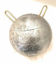 "60 pound (960 oz) Salmon Lead  Cannonball Sinker 6.5"" Diameter"