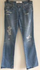 """BNWT ~ Abercrombie & Fitch Estilo-Emma envejecido Jeans ~ 28""""W X 35""""L PVP £ 65"""