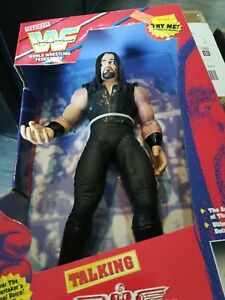 1997 WWF Rsv Talking Undertaker Figure WWE Wrestling vintage 90s