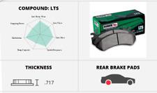Hawk Disc Rear Brake Pad for 07-10 Sierra 3500 HD # HB322Y.717