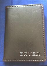 Bryer Leather Slim Handmade Bifold Wallet Chocolate. Brand New