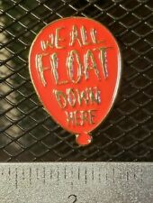 Here Red Balloon Pin/Brooch We All Float Down