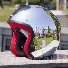 Casco Motorcross 3/4 Vintage Helmet Jet Motorcycle Motorbike Bike Helmets New