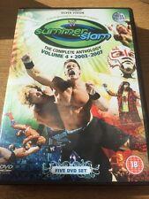 WWE - Summerslam Anthology Volume 4 DVD Box Set 1993 - 1997 Region 2 WWF