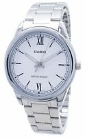 Casio MTP-V005D-7B2 Men's Standard Stainless Steel WHITE Dial Watch WR 50M