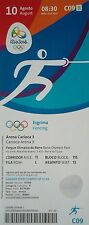 mint TICKET 10.8.2016 Olympia Rio Olympic Games Fechten Fencing # C09