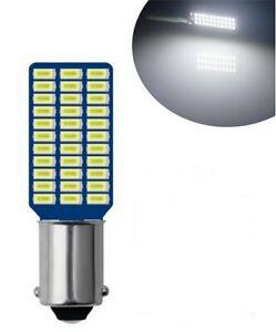 1x Ampoule BA9S LED T4W Veilleuse 6000K 33 SMD Lampe Interieur habitacle phares