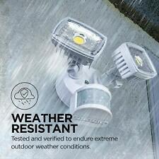 New listing Home Zone Security Motion Sensor Light w/ Electric Wire, 5000K 2000lmn Es00730V