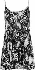 Polyester Paisley Machine Washable Tank, Cami Tops for Women