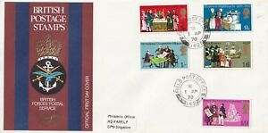 1970 General Anniversaries Full Set of 5 Special Postmark FPO 142 CDS FDC