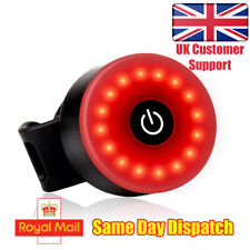 Super Bright Bike Rear Tail Light - Perfect for Night Time Rider or Commuter