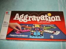 VINTAGE 1989 AGGRAVATION DELUXE MARBLE BOARD GAME