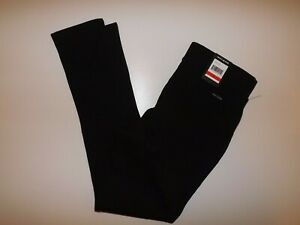 DKNY Black Mid Rise Knit Ponte Pants Size Medium M NWT Womens