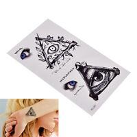 1pcs new eye Temporary Tattoo Sticker totem body art Waterproof fake tattoo BDAU