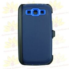 For Samsung Galaxy S3 case cover(Belt Clip Holster Fits Otterbox Defender) Navy