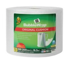 Duck Brand Original Bubble Wrap Cushioning 12 In. x 200 Ft. Clear