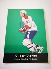 Parkhurst carte card 1992 hockey NHL NM+/M Montreal Canadiens 447 Gilbert Dionne