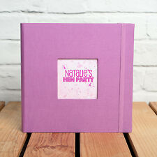 HEN PARTY PERSONALISED PHOTO ALBUM - Holds 200 6x4 inch photos  *GREAT GIFT*