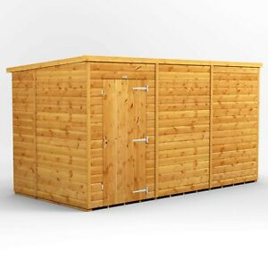 12x6 Power Pent Windowless Garden Shed | T&G | B GRADE SHED - AVAILABLE NOW