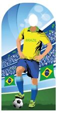 World Cup 2018 Brazil Football Adult Stand-in Lifesize Cardboard Cutout