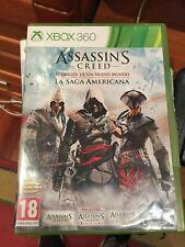 Assassins Creed -  La Saga Americana - Xbox360  - Pal España