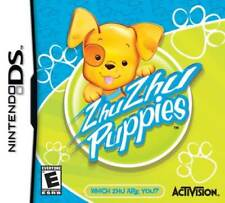 Zhu Zhu Puppies - Adopt Feed Bath Play DS/Lite/DSi/XL/3DS NEW