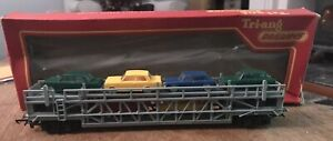 triang hornby car transporter