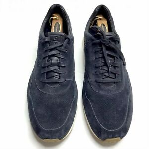 Cole Haan Grand OS Sneakers Shoes Black Suede Men's 13