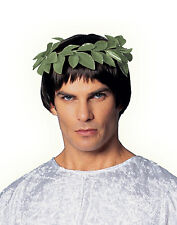 Green Greek Roman Leaf Wreath Adult Costume Accessory Headband