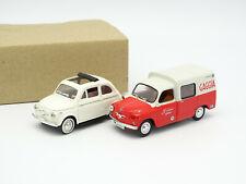 Solido Sb 1/43 - Bundle Fiat 500 + Seat Formichetta 1964 Gaggia