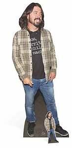 Dave Grohl rock star Lifesize & Mini Cardboard Cutout / Standee / Standup