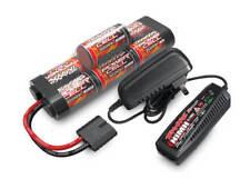 Traxxas 3000mAh 8.4v NiMh Hump Battery & AC Peak Charger Starter Combo 2984