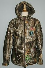 NEW Ladies REALTREE EDGE Waterproof Parka Windproof Hooded Coat Hunting Camo S