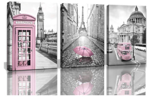 Paris Eiffel Tower Decor for Bedroom for Girls Pink Paris Theme Room Decor ...
