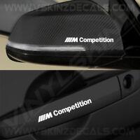4x BMW M Competition Premium Quality Door Handle / Mirror Decals Stickers Alpina