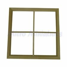 Dolls House Wooden Four Panel Window 1/12th Scale (01022)
