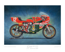 "Ducati 900SS TT Winner 1978 - Limited Edition Art Print 20""x16"" by Steve Dunn"