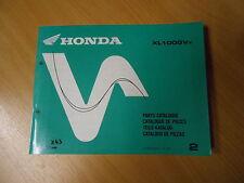Werkstatthandbuch Teile-Katalog  Honda  XL 1000 V (X) Varadero (SD01) Mod. 1999