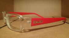 Dolce & Gabbana D&G DG 1146 749 Red & Clear Prescription Glasses 50-16 130