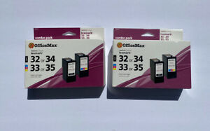 Office Max Replaces Lexmark Black 32 Or 34 Color 33 Or 35 Inkjet Cartridges