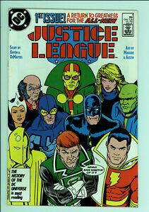 Justice League 1 - 1st Max Lord - High Grade 9.4 NM