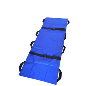 Safety Emergency Folding Stretcher Bed Pain Relief Soft Household Health J