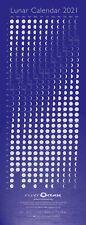 2021 Lunar Calendar, Phases of the Moon Wallchart Poster