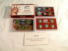 2008 United States Mint Silver Proof Set, 14 Coins, MIB