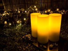 Lyra Candle, Flameless LED Ivory Round Candles with  - Lot Sale 6 Sets w/ Remote