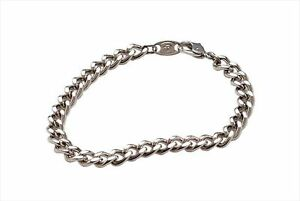 PURE!! Phiten New Titanium Chain Bracelet 17cm for Health Fashion MADE IN JAPAN