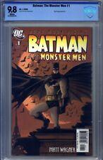 Batman: The Monster Men #1 CBCS 9.8 Matt Wagner, Hugo Strange